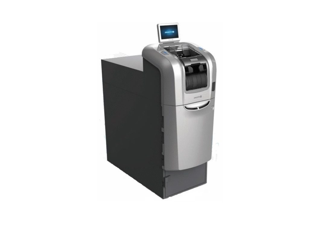 Hyosung Monisafe 50020 Money Handling Machines and Security Solutions for Financial Institutions