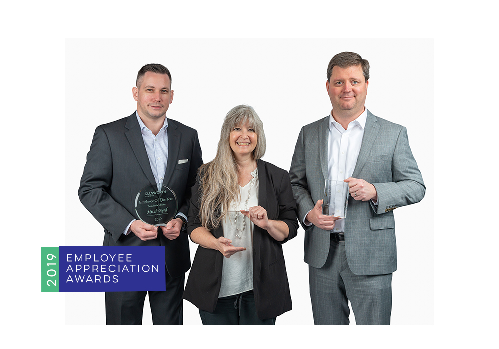 Employee Awards for financial security installations of surveillance and access control systems